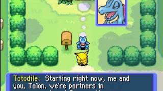 Pokemon Mystery Dungeon: Red Rescue Team gameplay