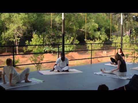Yoga. Kerala. India. 2017