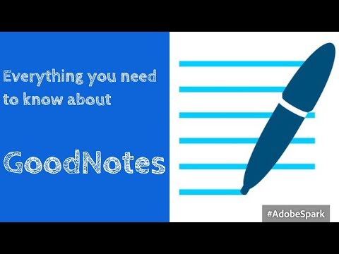 Everything you need to know about GoodNotes 4| Paperless Stu
