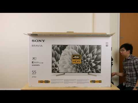 Sony XF90 (X900F) 4K TV Unboxing + Picture Settings