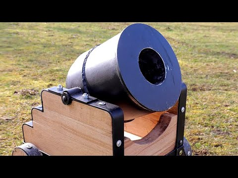 How to make Big Mortar Cannon at home