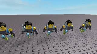 Shadow Clone Jutsu | ROBLOX Stop-Motion Attacks