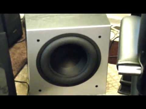 sony-6000's-towers-and-polk-505-subwoofer