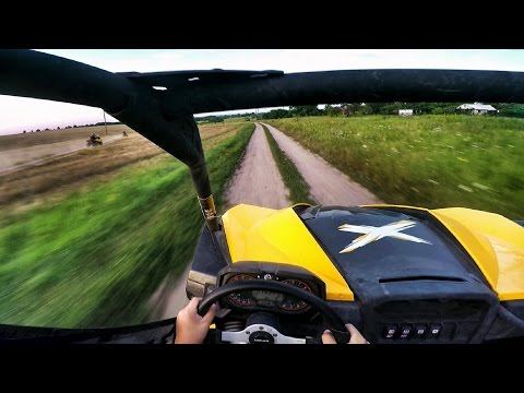 ATV Saltov #22 | Can-Am Maverick 1000R X RS & Can-Am Outlander 650 XT & Can-Am DS 250 | Квадроциклы