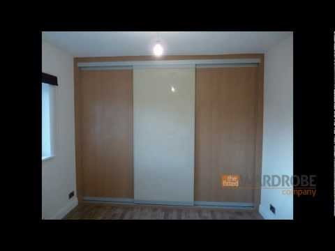Made To Measure Sliding Door Wardrobe Beech Light Brown