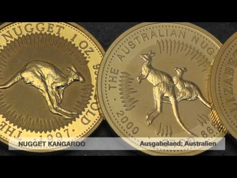 Goldmünze Nugget / Kangaroo (Australien)