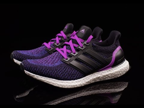 52fb672b749d1 Adidas Ultra Boost Shock Purple - YouTube