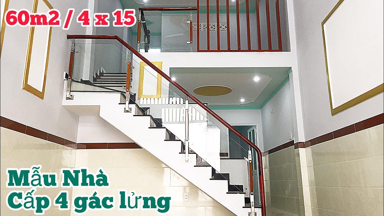 Mẫu Nhà Cấp 4 Gác Lửng 60m2 Mới Nhất Bạn Nên Xem Thử | Nhà Đẹp | Small house 60m