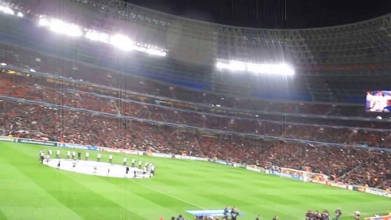 Манчестер юнайтед гимн лиги чемпионов