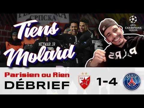 Debrief Sabri Belgrade Vs PSG 1-4 Direction les huitièmes de finale de la champions league