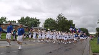 Grove City High School Marching Band in the Lincoln Village Parade 2015