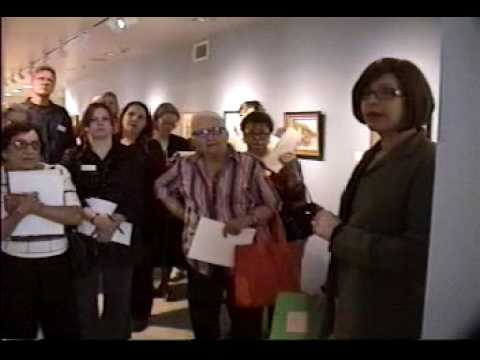 Fresno Met Museum - Anna Richards Brewster curator tour with Judith Maxwell - Part 7 of 9