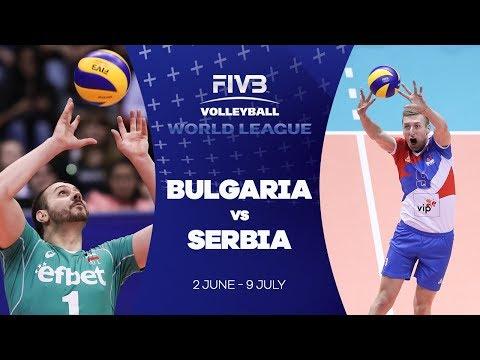 Bulgaria v Serbia highlights - FIVB World League