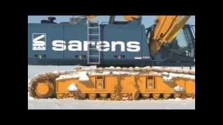 SENNEBOGEN - at minus 40 degrees in Antarctic: 3300 Crawler Cranes under extreme conditions