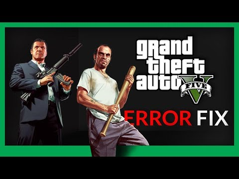 GTA 5  ERROR FIX - Corrupted Data - Launcher Crash - ERR_FIL_PACK_3
