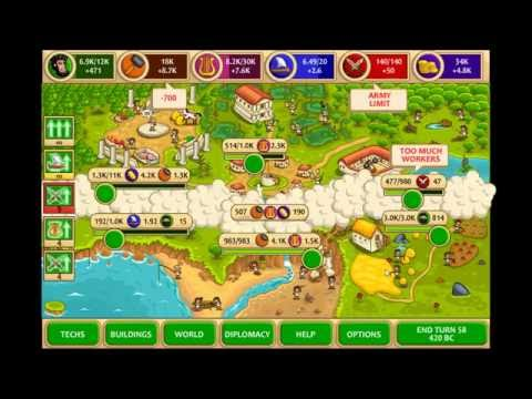 Pre-Civilization Marble Age - Perfect Score - Athens - Easy Level - Gameplay | Part 1