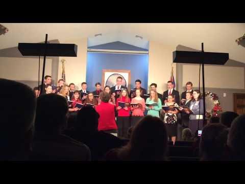 """Of The Father's Love Begotten"" by Utica Christian School Sr. High Choir - Christmas Program 2018"