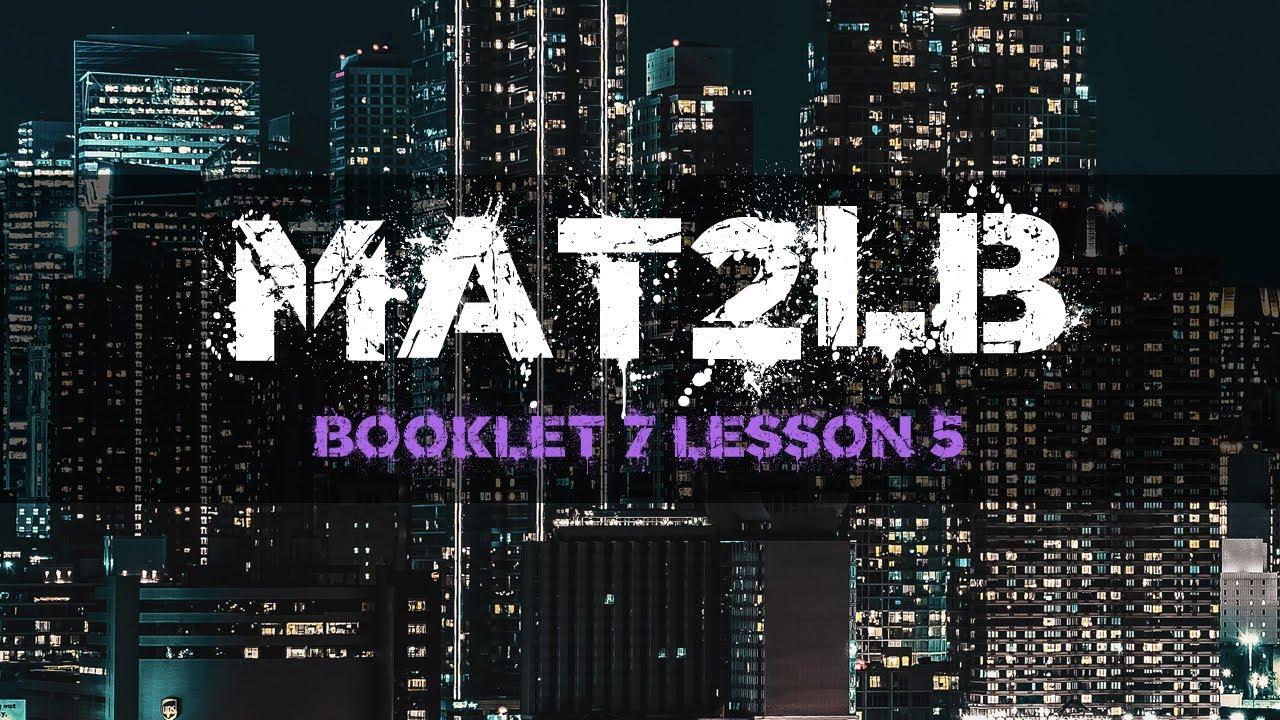 Grade 10 Ff Math Unit 7 Lesson 5