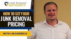 How to Set Your Junk Removal Pricing