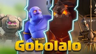GOBOLALO TH9 BEST WAR ATTACK STRATEGY | Flatten any TH9 base | Clash of Clans