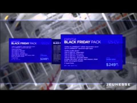 Jeunesse Black Friday Cyber Monday Sale 2014