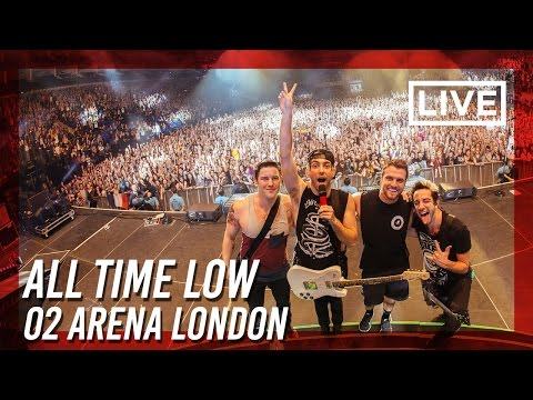 GoPro POV while photographing All Time Low Live at O2 Arena in London