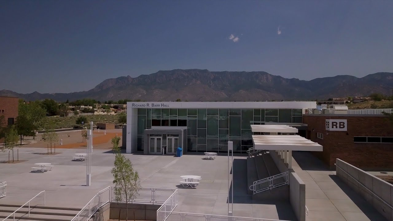 The Richard R Barr Hall At The Cnm Montoya Campus Youtube