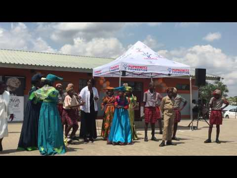 NPG Herero Cultural Dance Namibia (Olof Palme Primary School Inauguration)