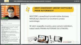 Webinarium portalu ngo.pl: Umowy dotyczące praw autorskich