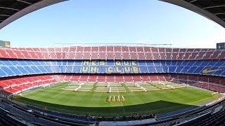 CAMP NOU. Descubriendo el estadio del Barça