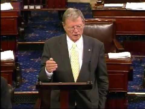 Inhofe Responds to Kerry on Senate Floor