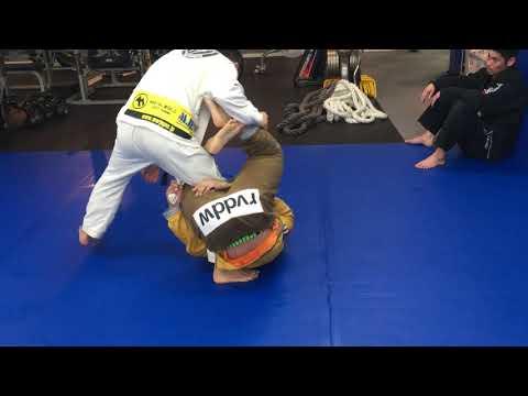 50/50 guard escape to leg drag Koji Shibamoto