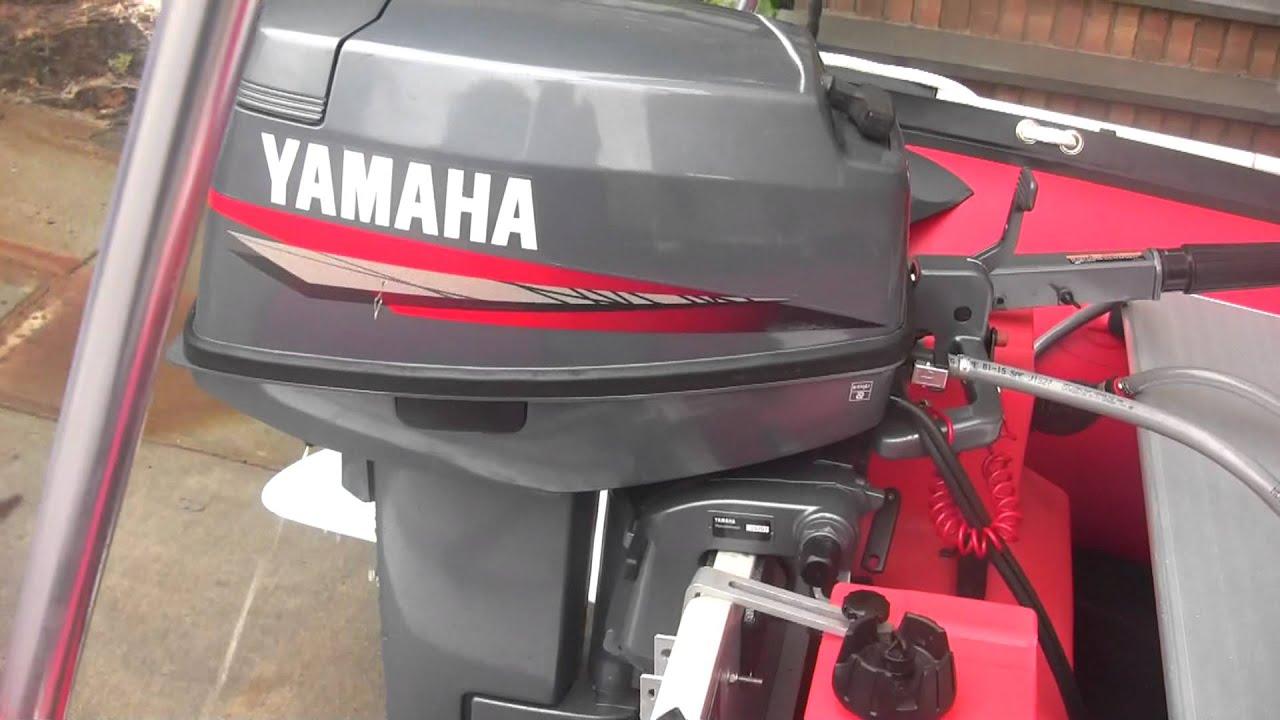 saturn sd 365 and yamaha 25 hp 2007 2 stroke tiller youtube