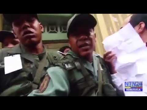 GNB le impidió el paso a la prensa en el centro de votación de Carlos Ocariz