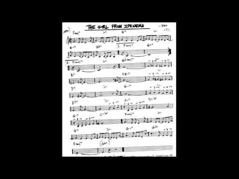 The Girl From Ipanema - Play Along - Backing Track