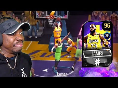 96 OVR Trendsetter LEBRON JAMES IS A GLITCH! NBA Live Mobile 20 Season 4 Ep. 30