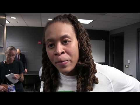 2017 WNBA FINALS G4: Seimone Augustus (10P, 8R, 2A) Interview