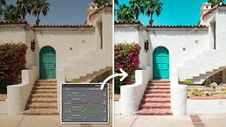 How to use CAMERA CALIBRATION in Lightroom