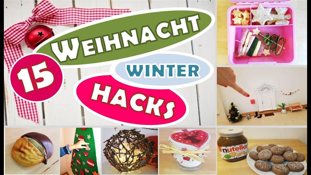 Download 15 WEIHNACHTSHACKS   Kinder   Brotdosen   Winterhacks   MOM HACKS   Kita   MamiSurvival