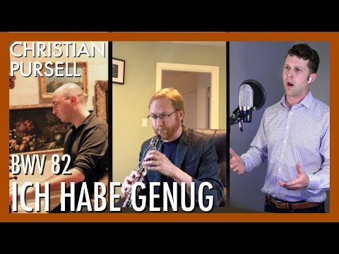 Ich Habe Genug (BWV 82, 1. Aria) - J.S. Bach