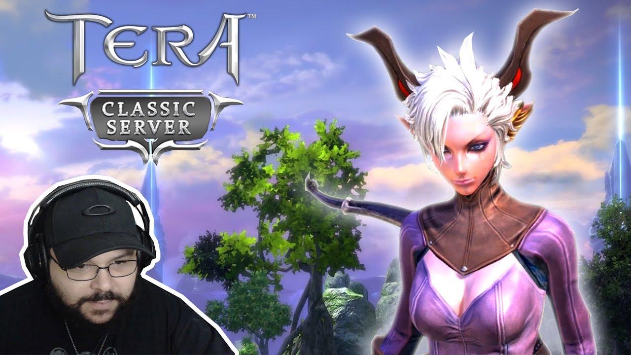 Tera Best Server 2019 TERA CLASSIC EU   Início de Gameplay Castanic Archer (Novo Server