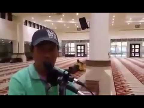 Yine Filipinli Mikrofon Teknisyenimiz O Güzel Sesiyle Kuran Kıraati