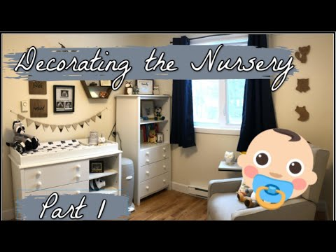 DECORATING THE NURSERY || PART 1