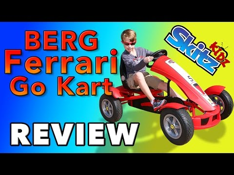 Berg Ferrari Go Kart Review By Logan | Skitz Kidz