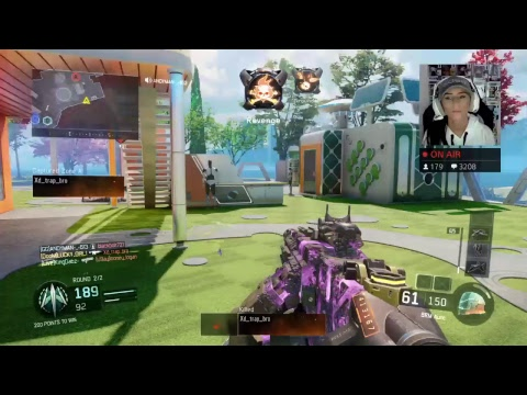 CALL OF DUTY BO3 MULTIPLAYER WITH DOOM LUCKYGIRL!!! LEADERBOARD GRIND!!! NEW SPONSOR BUTTON!!!
