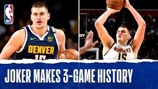Jokic Makes Nuggets HISTORY By Averaging 30-10-10 Over 3 Games