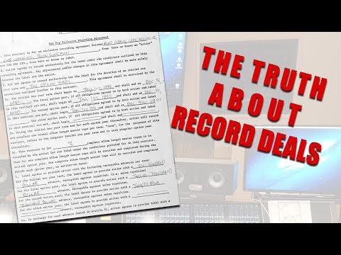 The Truth About Record Deals - Should I Sign to a Record Label Mp3