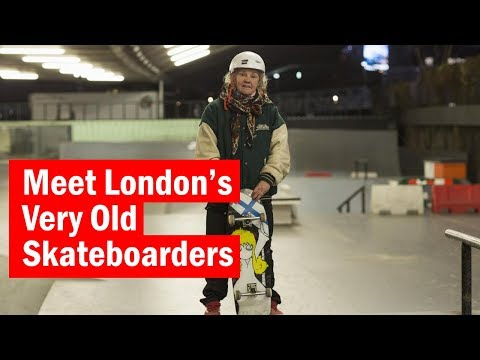 London's Very Old Skateboarders   City secrets   Time Out