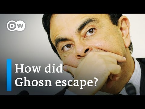 Ex-Nissan CEO Carlos Ghosn flees trial in Japan for Lebanon | DW News