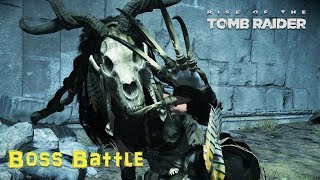 RISE OF TOMB RAIDER || BABA YAGA BOSS BATTLE || PC GAMEPLAY